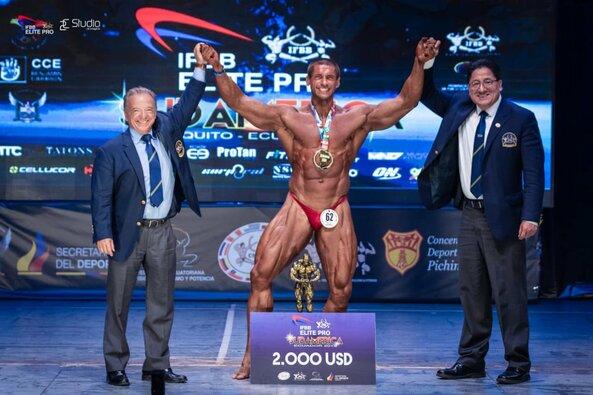 Deividas Dubinas triumfavo kultūrizmo varžybose Ekvadore