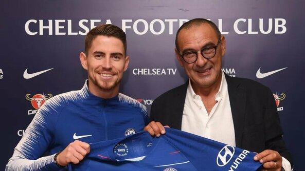 """50. Jorginho – iš """"Napoli"""" į """"Chelsea"""" 2018 m. Perėjimo suma: 57 mln. eurų. Perėjimo suma, įvertinus infliaciją: 57,87 mln. eurų."""