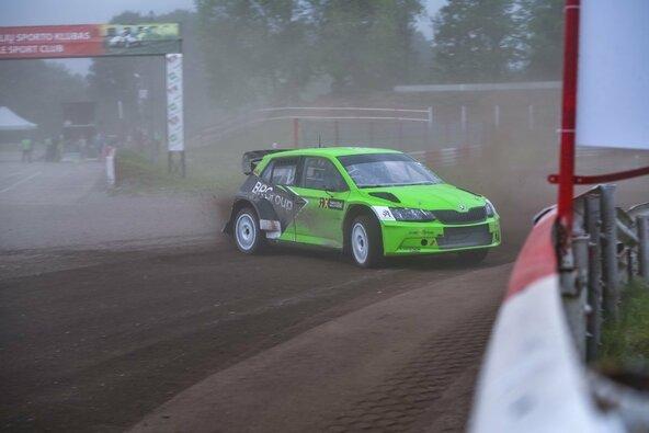 Lietuvoje to dar nebuvo – pirmą kartą trasoje pasaulio ralio-kroso superautomobilis