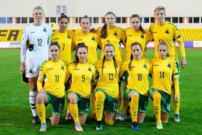 Lietuvos moterų futbolo rinktinė | lff.lt nuotr.