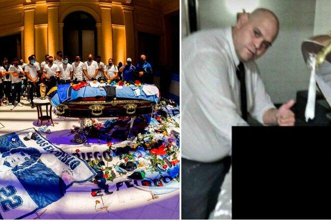 Diego Maradona laidotuvės | Scanpix nuotr.