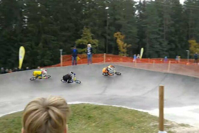 Finalinis Latvijos BMX taurės etapas   Youtube.com nuotr.