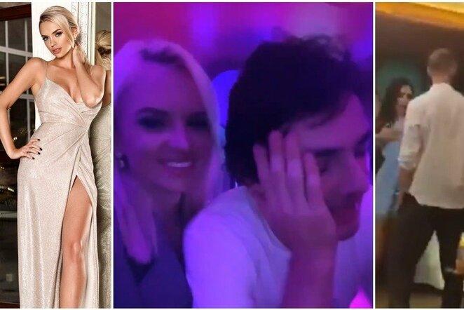 """Rusijoje – girtų """"Lokomotiv"""" futbolininkų šėlionės su buvusia A.Keržakovo žmona   Instagram.com nuotr"""