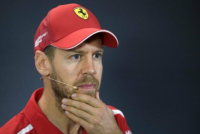 Sebastianas Vettelis | Scanpix nuotr.