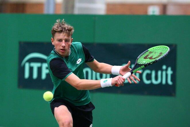 Antros kategorijos jaunių teniso turnyras Šiauliuose (Gintaro Šiupario nuotr.) | Organizatorių nuotr.