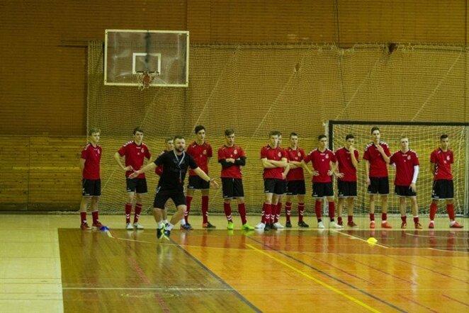 Lietuvos jaunimo futsalo rinktinė | lff.lt nuotr.