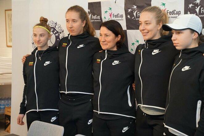 Lietuvos moterų teniso rinktinė | Organizatorių nuotr.