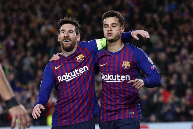 Lionelis Messi ir Philippe Coutinho | Scanpix nuotr.