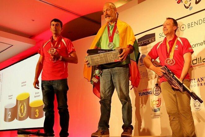 Alekso Jauniaus triumfas | Organizatorių nuotr.