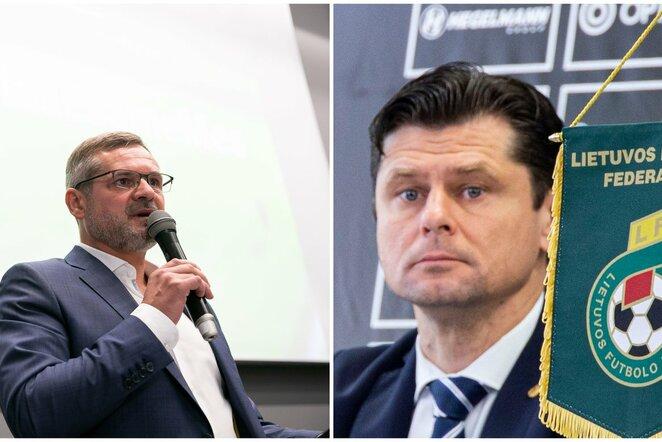 Paulius Malžinskas ir Tomas Danilevičius   BNS nuotr.