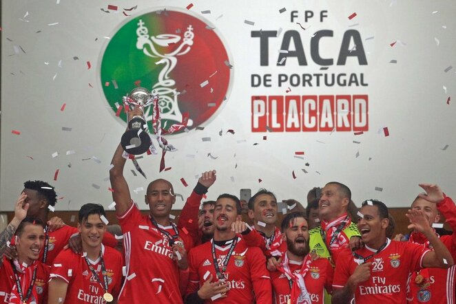 """Benfica"" ekipa | Scanpix nuotr."