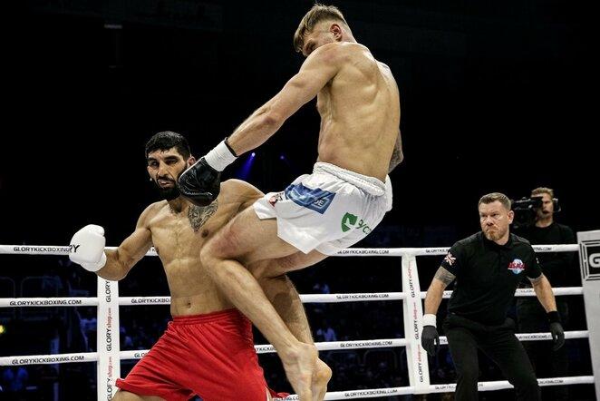 Sergejus Maslobojevas prieš Bahramą Rajabzadehą | Organizatorių nuotr.
