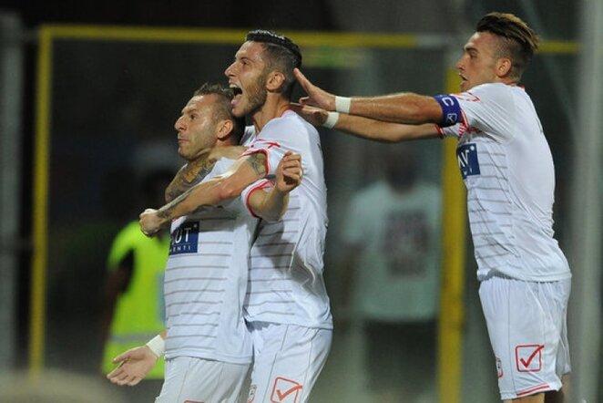 """Carpi"" futbolininkai   LaPresse/Scanpix nuotr."
