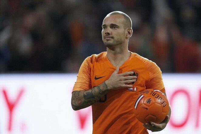 Wesley Sneijderis   Scanpix nuotr.