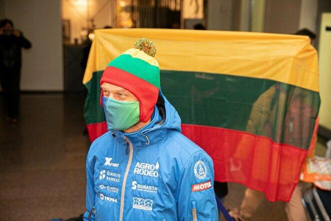 Vaidotas Žala grįžo į Lietuvą | Juliaus Kalinsko / BNS foto nuotr.