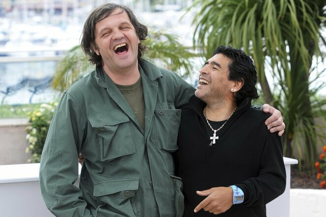 Emiras Kusturica ir Diego Maradona   Scanpix nuotr.