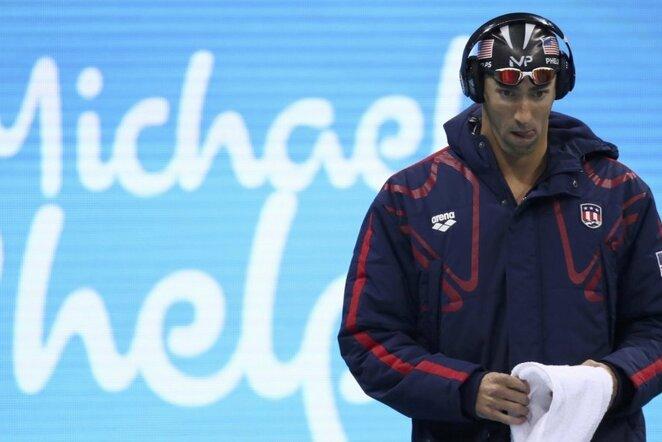 Michaelas Phelpsas | Scanpix nuotr.