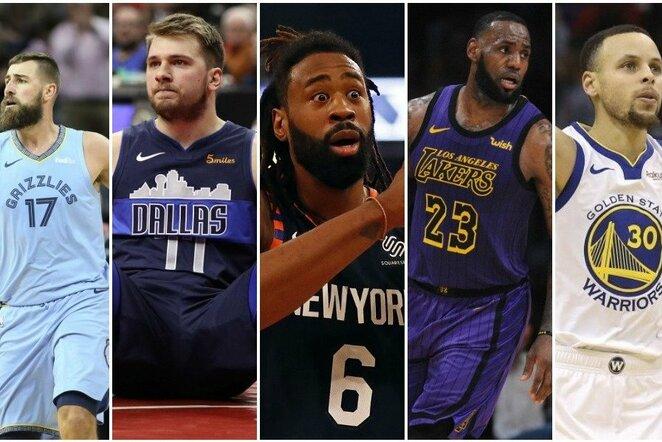 Vertingiausių NBA komandų reitingas | Scanpix nuotr.