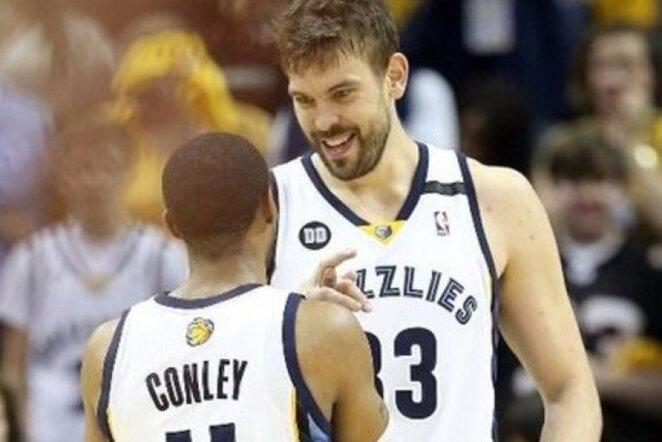 """""""Clippers"""" priekinė linija neprilygo """"Grizzlies"""" aukštaūgiams (Scanpix)"""