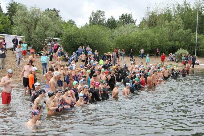 Karaliaus Mindaugo plaukimo maratonas   Organizatorių nuotr.