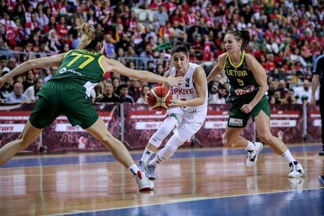 Turkių ir lietuvių rungtynės | FIBA nuotr.