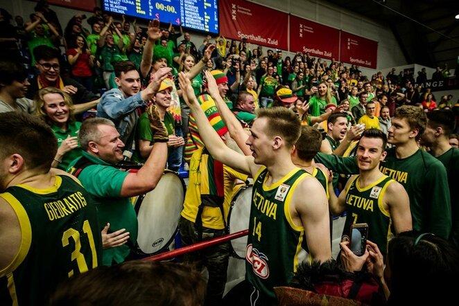 Lietuvos rinktinė   FIBA nuotr.