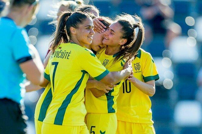 Lietuvos moterų futbolo rinktinė   lff.lt nuotr.