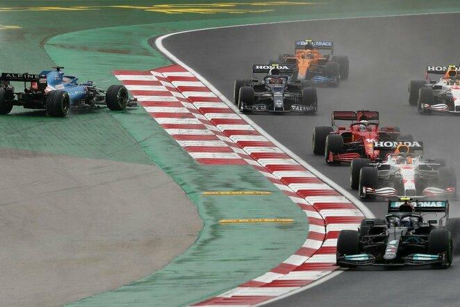 Turkijos GP lenktynių startas | Scanpix nuotr.