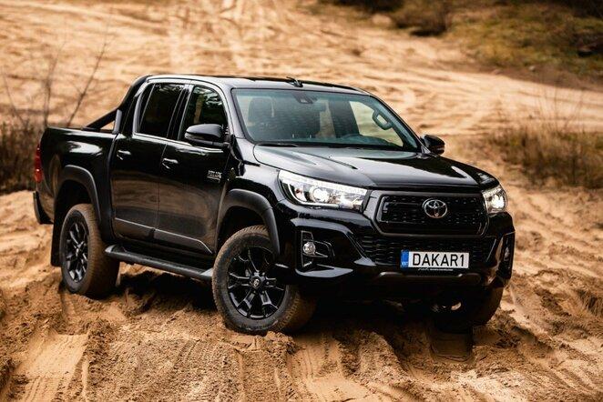 """Toyota Hilux Benediktas Vanagas Edition"" | Egidijaus Babelio nuotr."