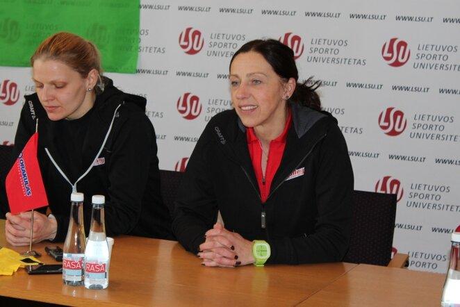 Daiva Simokaitienė (dešinėje) | Sportas.lt/Dominyko Genevičiaus nuotr.