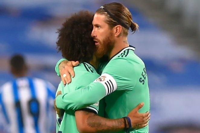 Marcelo ir Sergio Ramosas | Scanpix nuotr.