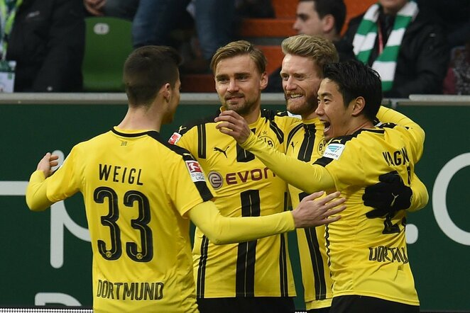 Dortmundo klubas džiaugiasi įvarčiu | Scanpix nuotr.
