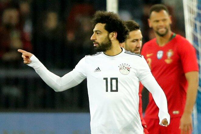 Draugiškos rungtynės: Portugalija - Egiptas (2018.03.23) | Scanpix nuotr.