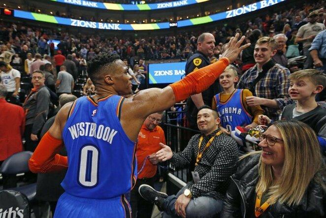 Westbrookas | Scanpix nuotr.
