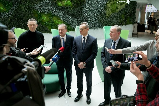 Speciali LKL valdybos narių konferencija | Juliaus Kalinsko / BNS foto nuotr.