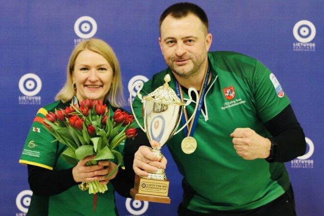 Lina Janulevičiūtė ir Vytis Kulakauskas   Organizatorių nuotr.