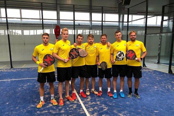 Lietuvos padelio teniso rinktinė | Organizatorių nuotr.