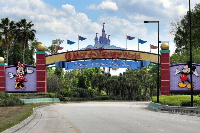Walt Disney parkas | Scanpix nuotr.