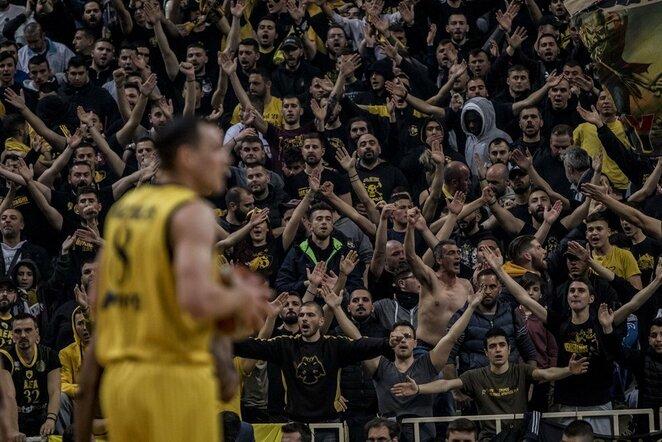 AEK sirgaliai ir Jonas Mačiulis | FIBA nuotr.