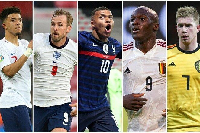 "Vertingiausi ""Euro 2020"" futbolininkai | Scanpix nuotr."