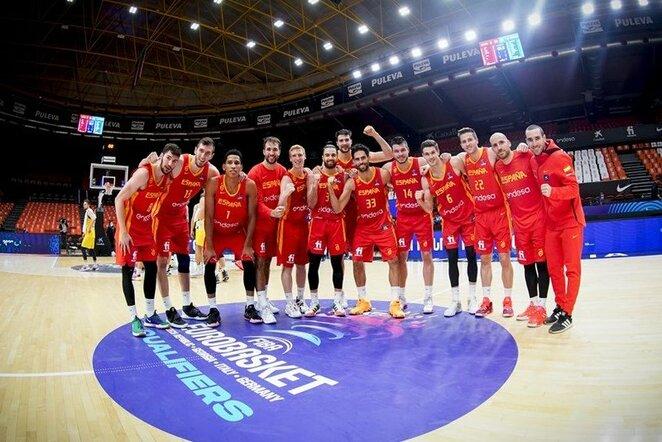 Ispanija | FIBA nuotr.