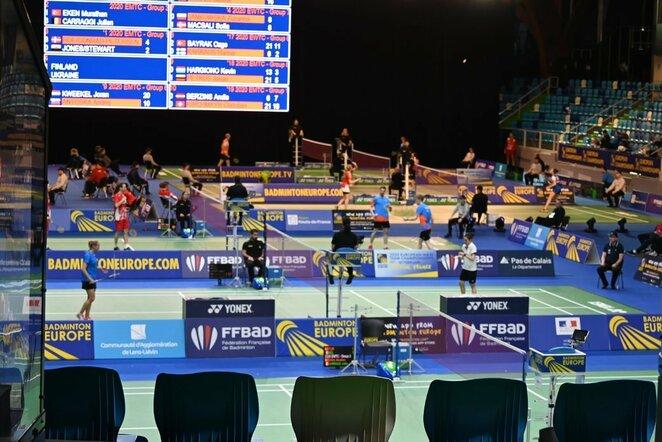 Europos jaunučių badmintono čempionatas | Organizatorių nuotr.