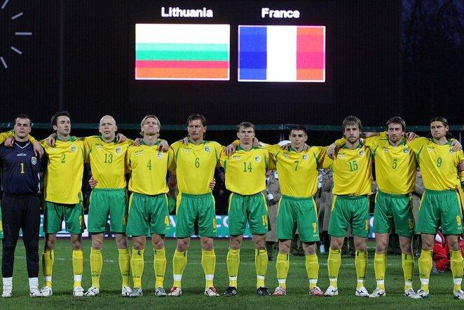 Lietuvos futbolo rinktinė 2007m.   Scanpix nuotr.