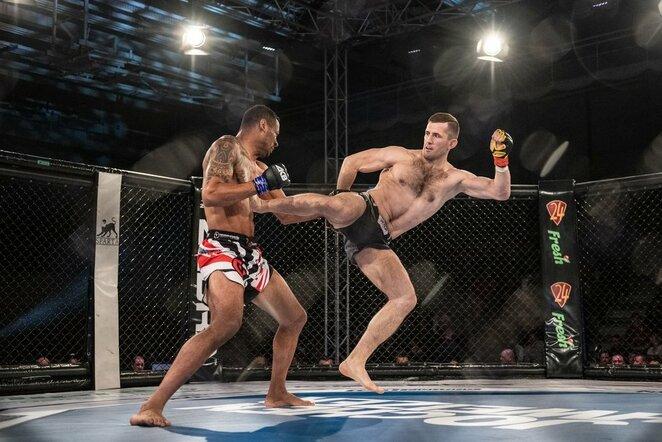 Laurynas Urbonavičius –Rafaelis Xavieras | Nova Fighting Championship nuotr.