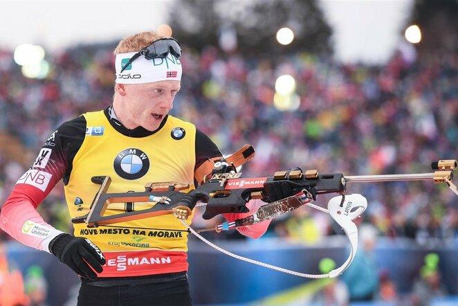 Vyrų 15 km bendro starto lenktynės | Scanpix nuotr.