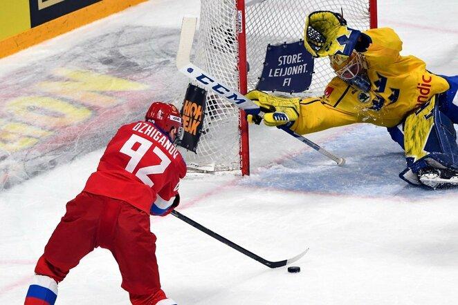 Rusų ir švedų rungtynės | Scanpix nuotr.