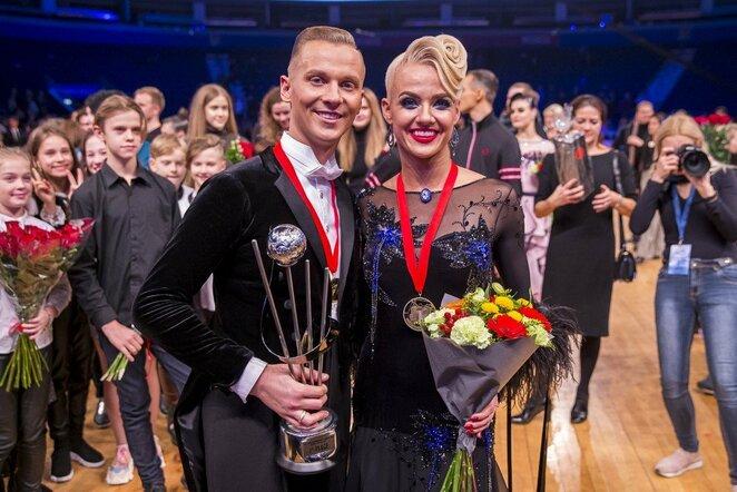 Pasaulio standartinių šokių čempionatas   Roko Lukoševičiaus/BNS Foto nuotr.
