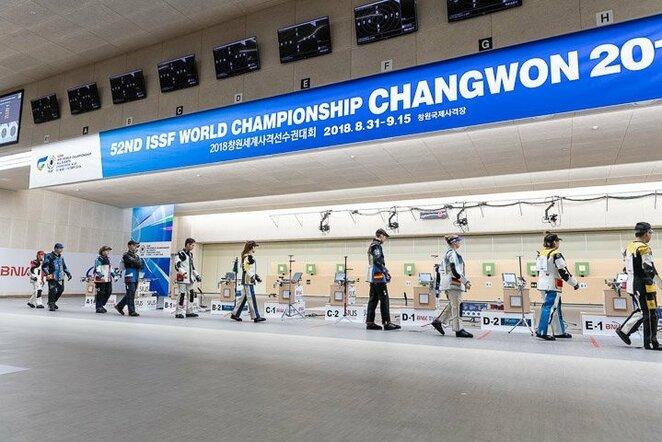 Pasaulio šaudymo čempionatas   Organizatorių nuotr.