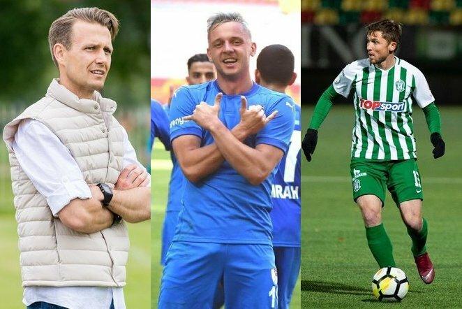 R.Garastas, A.Novikovas, S.Mikoliūnas futbolas.lt fotomontažas