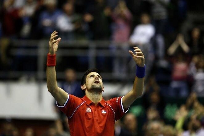 Daviso taurė: Serbija - Kazachstanas | Scanpix nuotr.